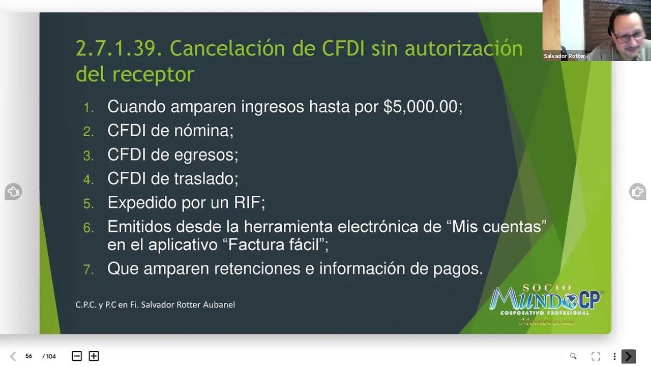 CFDI 3 PARTE