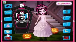 Draculaura Halloween Wedding Cartoon Video Game For Girls