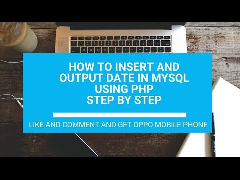 How To Insert Date In Mysql Using Php : How To Get Date From Mysql Using Php