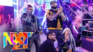 Hit Row hypes up NXT Universe ahead of B-Fab's clash: WWE NXT 2.0, Sept. 28, 2021