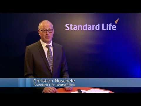 Präsentation zu WeitBlick, der neuen, fondsgebundenen Lebensversicherung von Standard Life