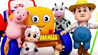 Farmees Cartoons for Children | Fun Nursery Rhymes Compilation for Kids