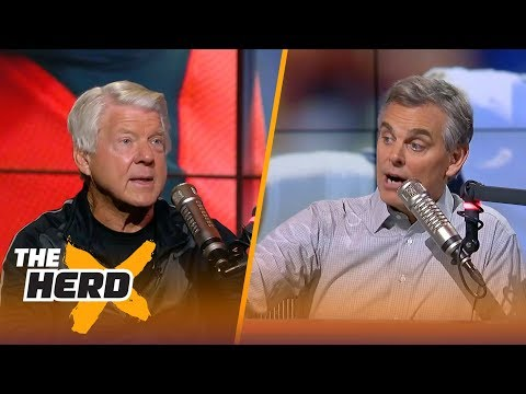 Jimmy Johnson talks Giants vs Cowboys , L.A. Rams vs. Indianapolis Colts after Week 1 | THE HERD