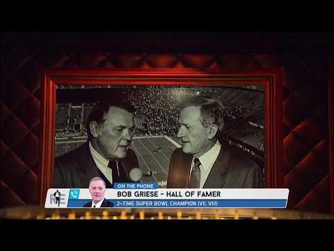 Pro Football Hall Of Famer Bob Griese on Keith Jackson