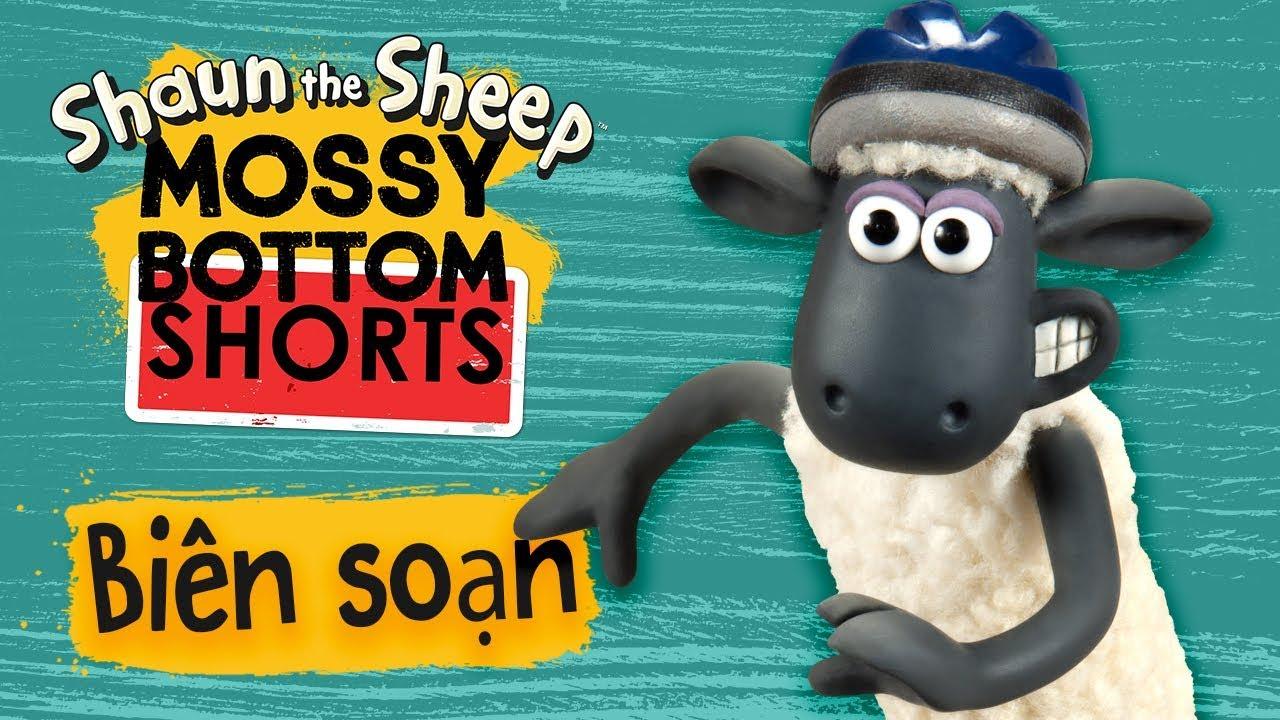 Biên soạn tập đầy đủ 11-15 | Mossy Bottom Shorts | Những Chú Cừu Thông Minh [Shaun the Sheep]