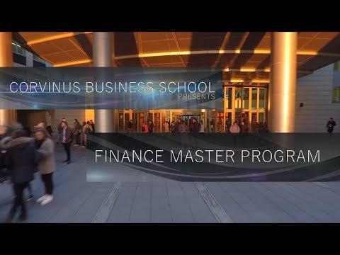 Finance Master Program - Corvinus Business School