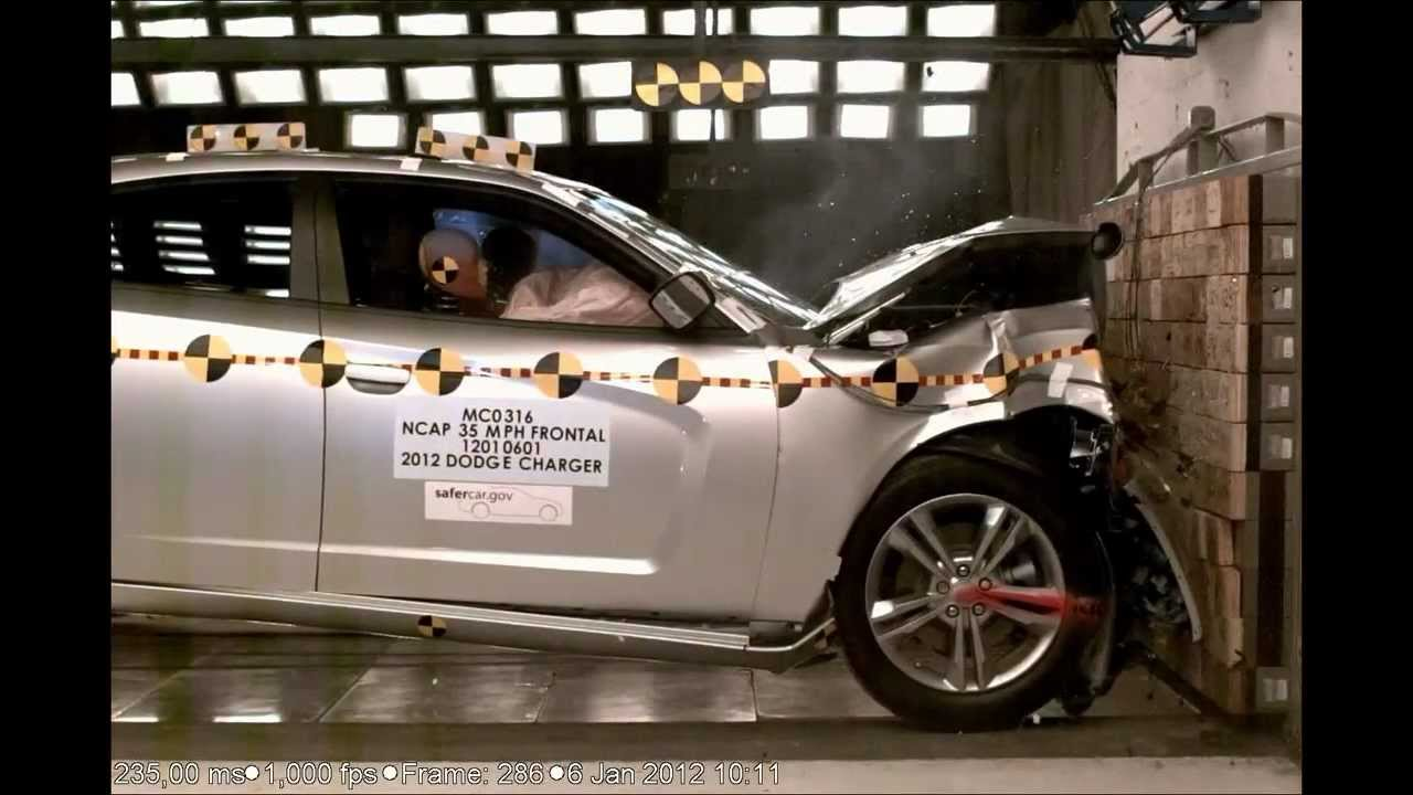 Dodge Charger | 2012 | Frontal Crash Test by NHTSA ...