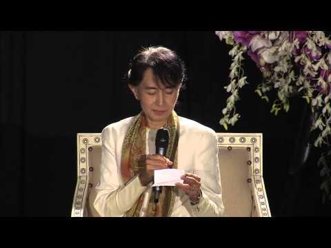 Daw Aung San Suu Kyi at USF [Full talk]