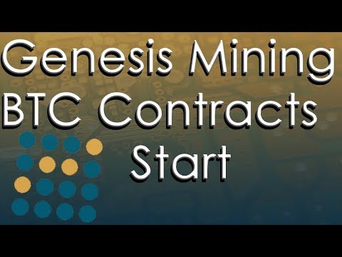 Bitcoin Contracts Are Back! Sort Of... Genesis Mining Update