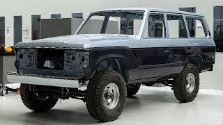 1988 Toyota Land Cruiser FJ62 Full OEM Frame-Off Restoration Project