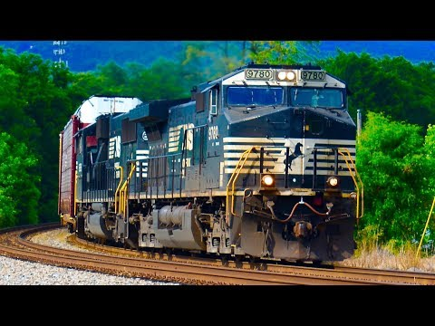 Norfolk Southern Freight Trains