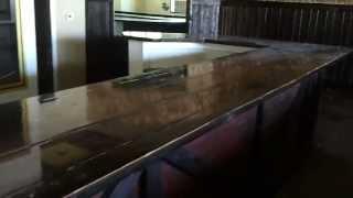 Huge Wood Bar Top For Sale