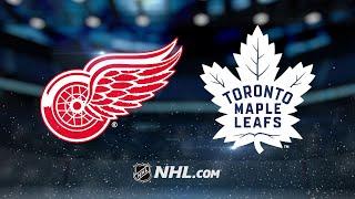 Matthews helps propel Maple Leafs past Red Wings, 6-3
