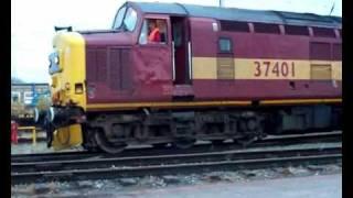 Mainline Class 37 Action THRASH and CLAG!! 2009!.wmv