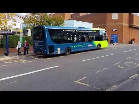 BUS ROUTE 91 IN WOKING