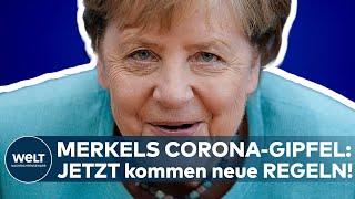 CORONA-GIPFEL: Geimpfte, Ungeimpfte! Merkel und die Ministerpräsidenten legen neue Regeln fest