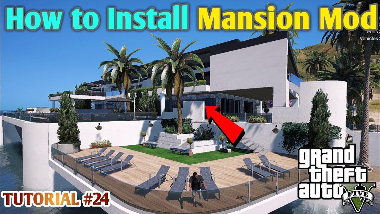 HOW TO INSTALL MANSION MOD | GTA 5 HINDI MOD TUTORIAL | #24 || GT GAMING