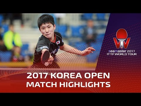 Thumbnail: 2017 Korea Open Highlights: Tomokazu Harimoto vs Lim Jonghoon (Pre)