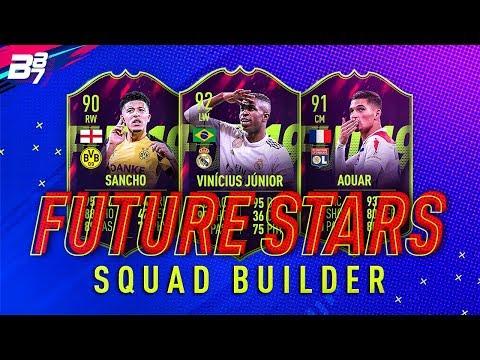 FULL FUTURE STARS SQUAD BUILDER! | FIFA 19 ULTIMATE TEAM