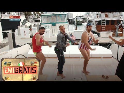Emigratis 3 - Pio e Amedeo ballano con Gianluca Vacchi