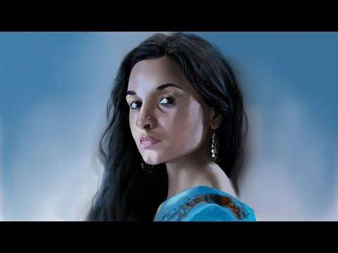 New released Alia Bhatt's movie Raazi Digital painting | Speed Painting | Painting Alia Bhatt.