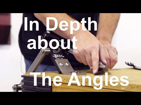 All American Sharpener - In Depth About The Angles