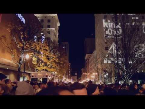 Christmas Tree lighting in Portland