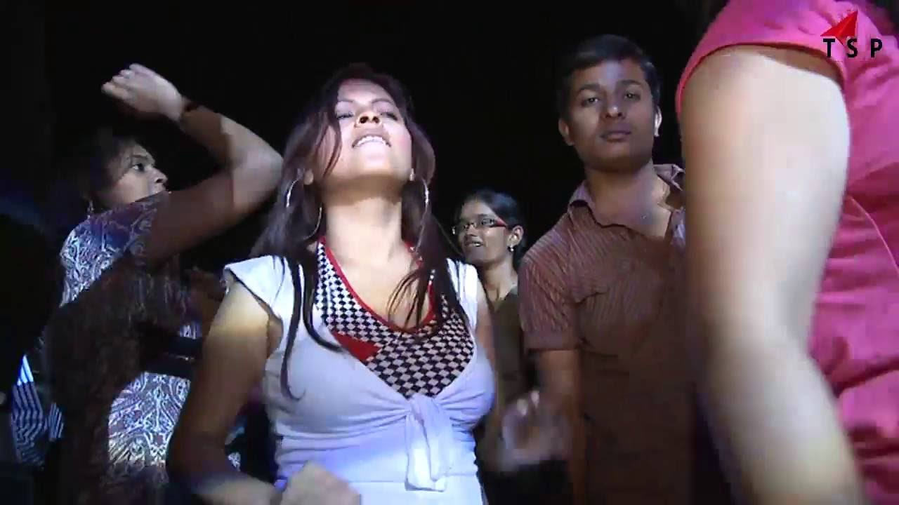 Indian Girls Night Life Party Dance Performance Energetic Dance 2016