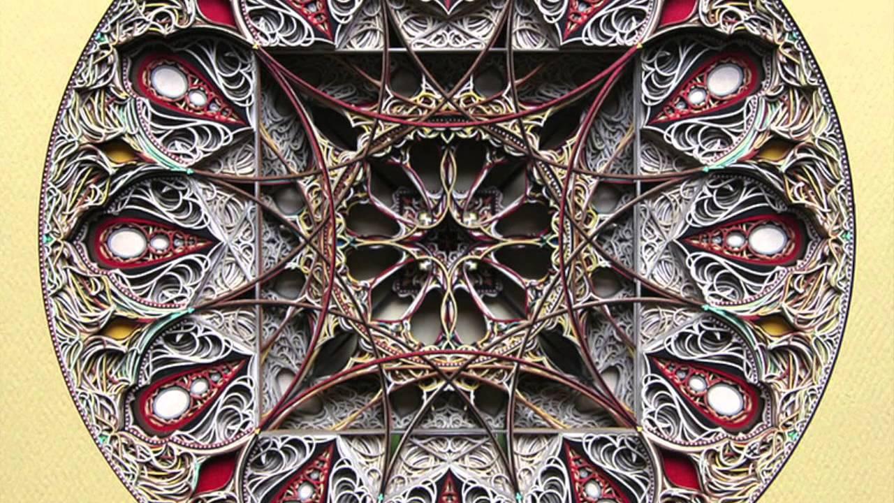 incredible laser cut paper art youtube