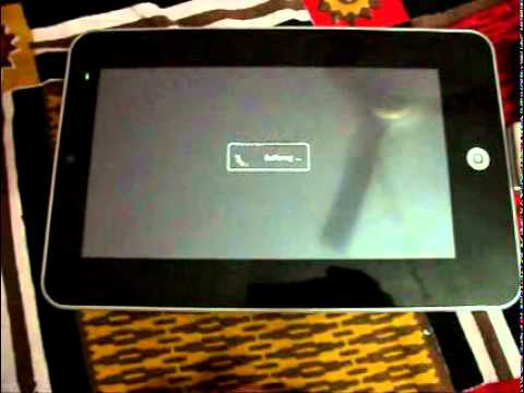 7 Inch Android 2.2 Tablet Running Youtube, Facebook, Games And Ebooks Multi Touch Version