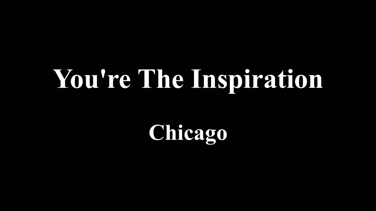 Deadpool Soundtrack You Re The Inspiration Lyrics By Chicago Youtube
