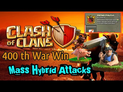 400th War Win💞   Hybrid Attacks   Patna PiraTes ❤️.