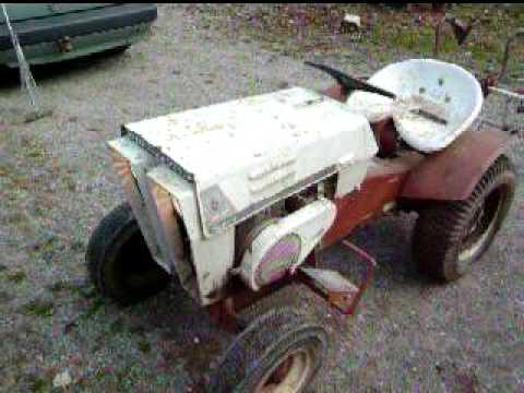 Old 1967 Sears Custom 6 Lawn Tractor Youtube