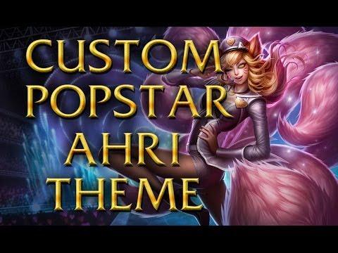 LoL Login theme - Chinese - 2013 - Popstar Ahri [Unofficial Version]