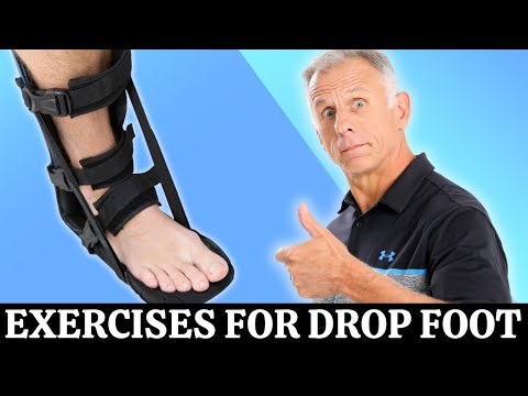 Top 3 Exercises For Foot Drop - YouTube