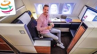 Schweizer Qualität, die SWISS First Class in der 777-300ER | YourTravel.TV