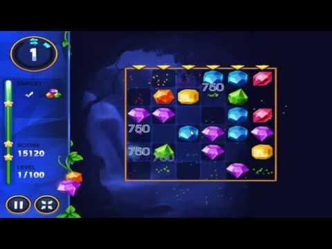 Jewel academy - Gameplay(lvl 1,2,3)