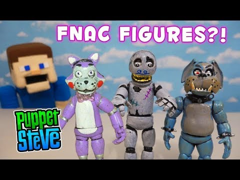 FNAF Five Nights at Candy&39;s Articulated Fake Funko Bootleg Freddy Figures