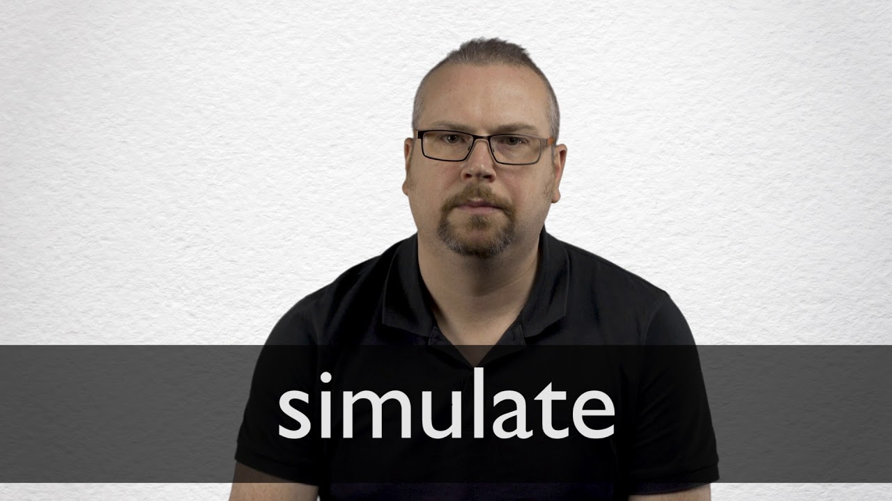 Simulate definition and meaning   Collins English Dictionary