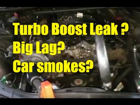 Boost Pressure Leak? Why do I have Lag? Turbo does not spool ?
