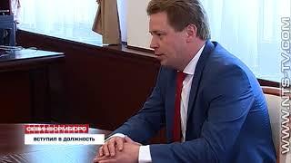 21.05.2018 Губернатор Севастополя обсудил план работы с новым командующим Черноморского флота