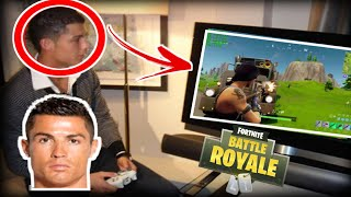 When football players play Fortnite battle Royale