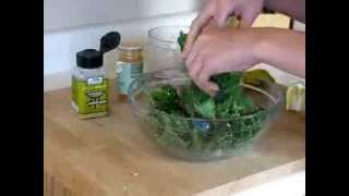 Kale Chips: Homemade Roasted Garlic And Cayenne