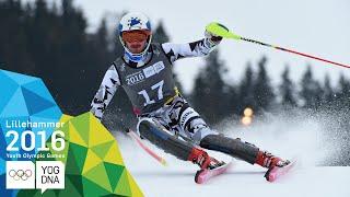 Slalom - Manuel Traninger (AUT) wins Men