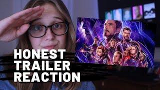 Honest Trailers Avengers: Endgame Reaction!