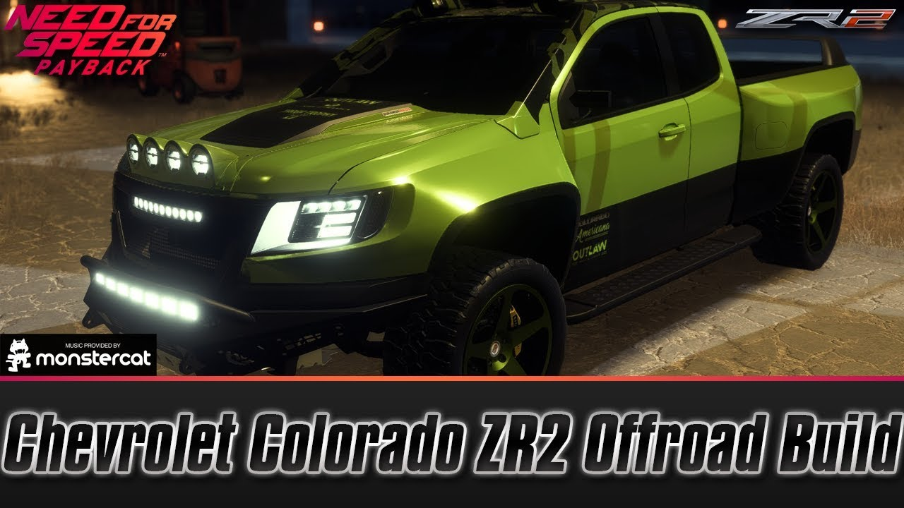 Need For Speed Payback Chevrolet Colorado Zr2 Offroad Build