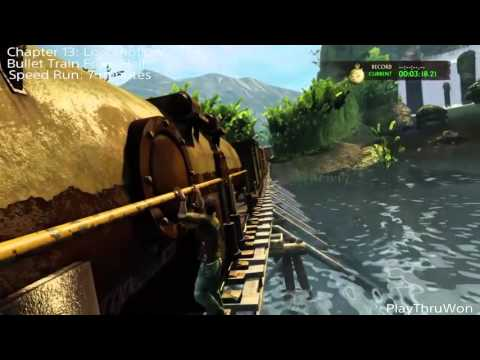Uncharted 2 Among Thieves Remastered Bullet Train From Hell Trophy Guide