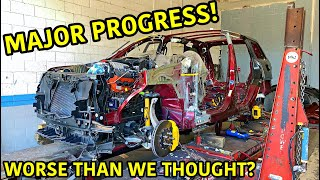 Rebuilding A Wrecked 2018 Jeep Trackhawk Part 9