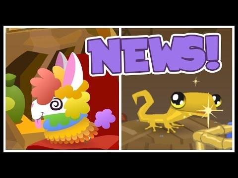 Animal Jam News: RAINBOW LLAMAS AND GOLDEN GECKOS!