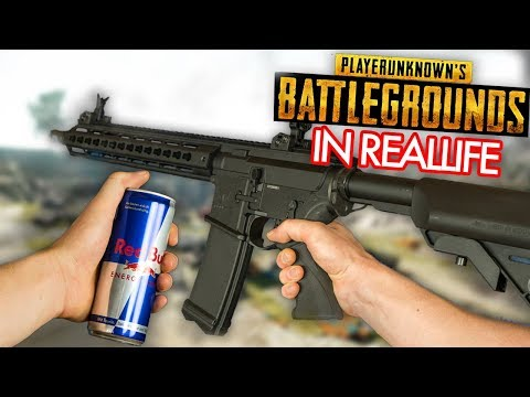 BATTLEGROUNDS in Real Life - PUBG Airsoft